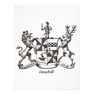 CAMPBELL FAMILY CREST LETTERHEAD