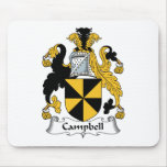 Campbell Family Crest Mouse Mats