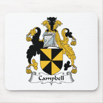 Campbell Family Crest Mousepad