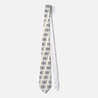 CAMPBELL FAMILY CREST NECK TIE