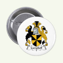 Campbell Family Crest Button