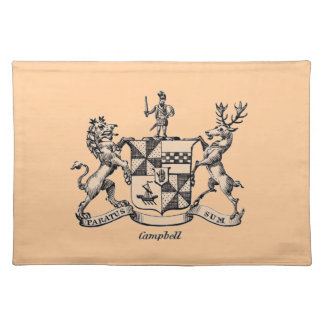 CAMPBELL FAMILY CREST PLACEMAT