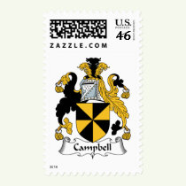 Campbell Family Crest Stamps