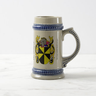 Campbell Family Crest Stein
