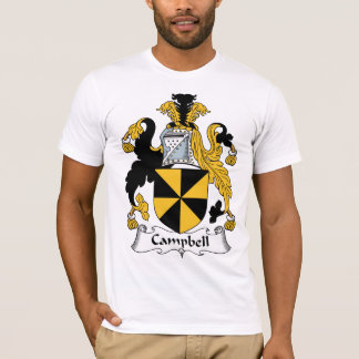 Campbell Family Crest T-Shirt