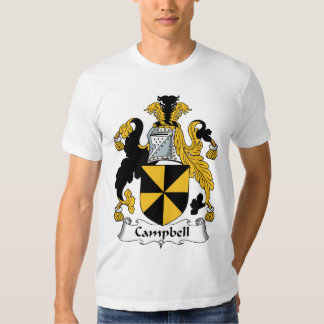 Campbell Family Crest T Shirts