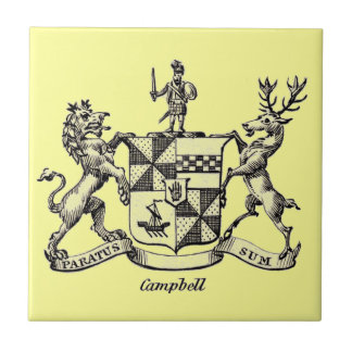 CAMPBELL FAMILY CREST SMALL SQUARE TILE