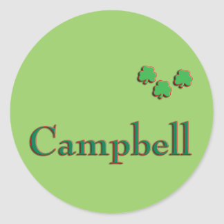 Campbell Family Stickers