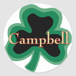 Campbell Family Round Sticker