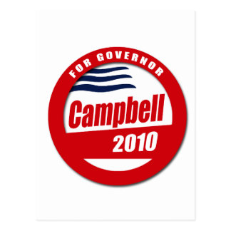 Campbell for Governor Postcard