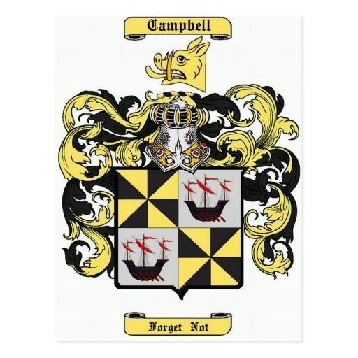 campbell (irish) postcard