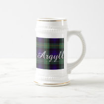 Campbell of Argyll clan Plaid Scottish tartan Beer Stein