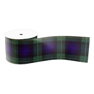 Campbell of Argyll clan Plaid Scottish tartan Grosgrain Ribbon