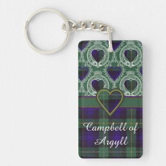 Campbell of Argyll clan Plaid Scottish tartan Keychain