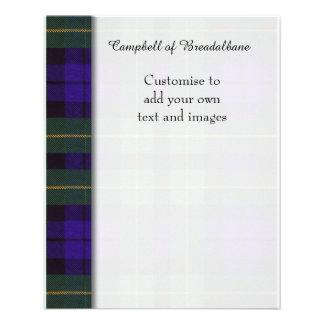 Campbell of Breadalbane Plaid Scottish tartan Flyer