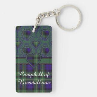 Campbell of Breadalbane Plaid Scottish tartan Keychain