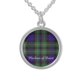Campbell of Breadalbane Plaid Scottish tartan Sterling Silver Necklaces