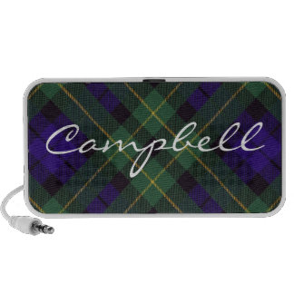 Campbell of Breadalbane Scottish Tartan iPod Speaker