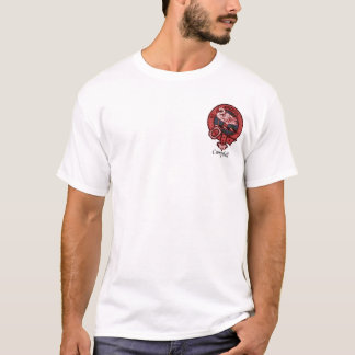 Campbell Of Cawdor Clan Crest T-Shirt