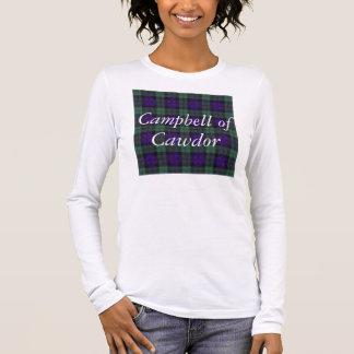 Campbell of Cawdor clan Plaid Scottish tartan Long Sleeve T-Shirt
