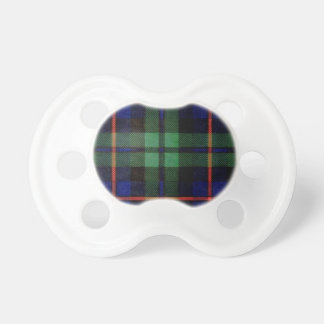 CAMPBELL OF CAWDOR FAMILY TARTAN PACIFIERS