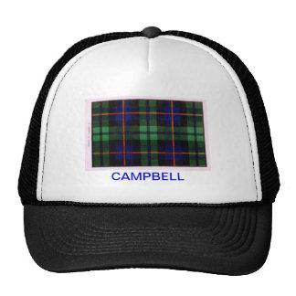 CAMPBELL OF CAWDOR FAMILY TARTAN TRUCKER HAT