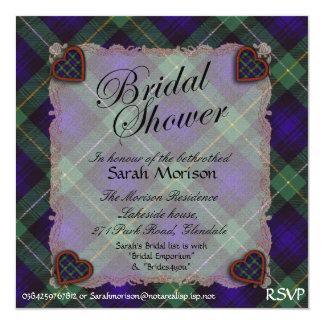 Campbell of Cawdor tartan Plaid - Bridal shower Card