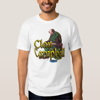 Campbell Old Scottish Highland Games Shirts