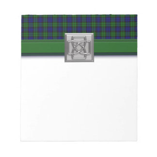 Campbell or Black Watch Tartan Plaid Notepads