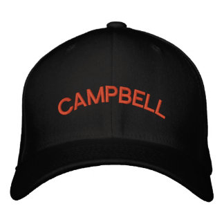 Campbell Sabers Fitted Hats Embroidered Baseball Caps