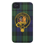Campbell Scottish Crest and Tartan iPhone 4 Case