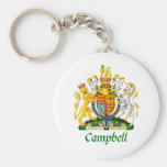 Campbell Shield of Great Britain Keychain