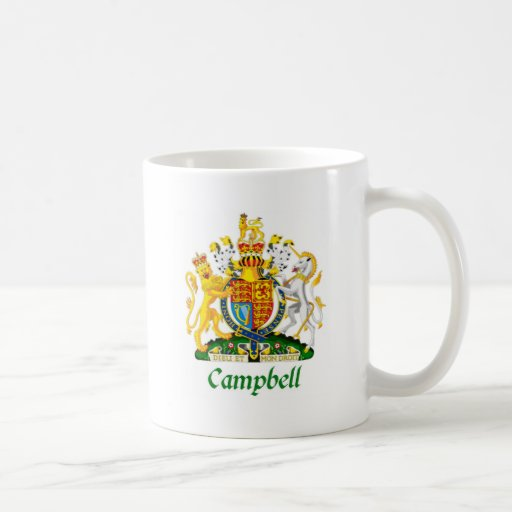 Campbell Shield of Great Britain Classic White Coffee Mug
