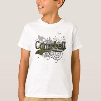 Campbell Tartan Grunge T-Shirt