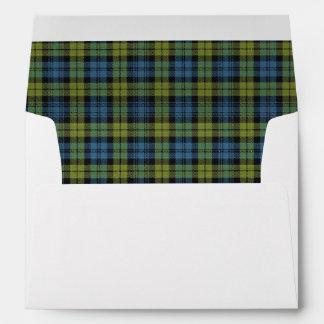 Campbell Tartan Scottish Dreams Envelopes
