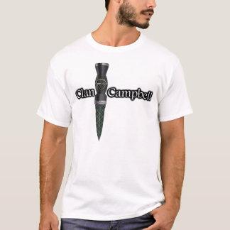 Campbell Tartan Scottish Sgian Dubh T-Shirt