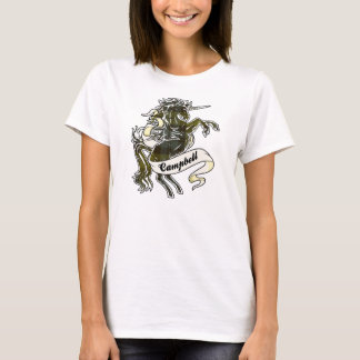 Campbell Tartan Unicorn T-Shirt