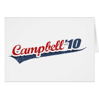 Campbell Team 2010 Card