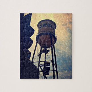 Campbell Water Tower 8 X 10 Puzzle