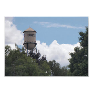 Campbell Water Tower, California Card