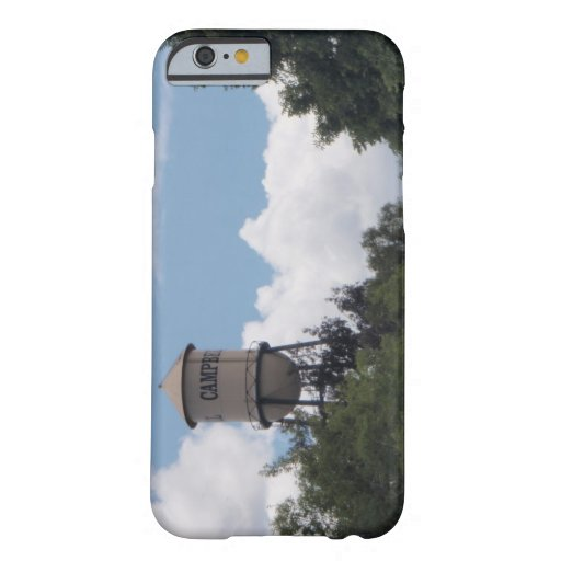 Campbell Water Tower, California iPhone 6 Case