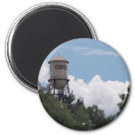 Campbell Water Tower, California Refrigerator Magnet