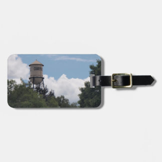 Campbell Water Tower, California Travel Bag Tag