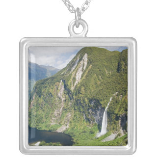 Campbells Kingdom, Doubtful Sound, Fiordland Silver Plated Necklace
