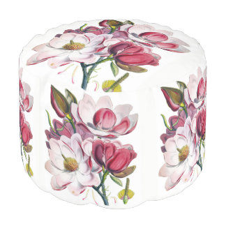 Campbell's Magnolia Pouf