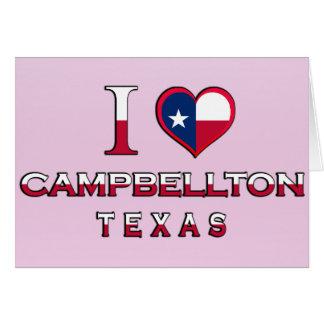 Campbellton Texas Greeting Card