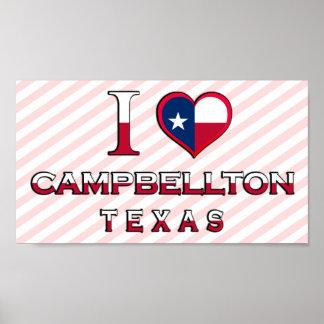 Campbellton Texas Print