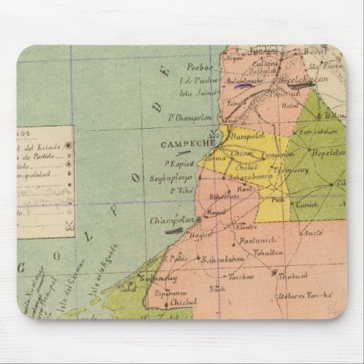 Campeche, Mexico Mouse Pad