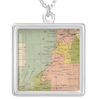 Campeche, Mexico Silver Plated Necklace