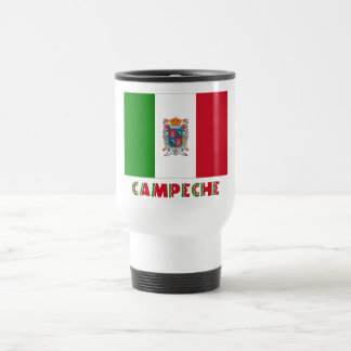 Campeche Unofficial Flag 15 Oz Stainless Steel Travel Mug